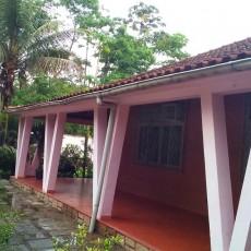 Vista de frente da casa