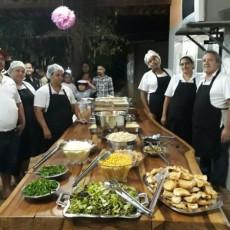 equipe da cozinha