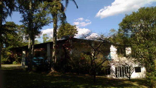 Vista lateral da Casa Sede