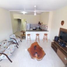 Visão geral da sala de estar do Apartamento Superior